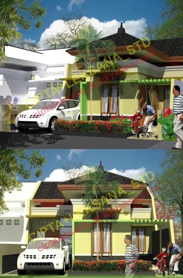 Rumah Tinggal Konsep: Minimalis Tropis